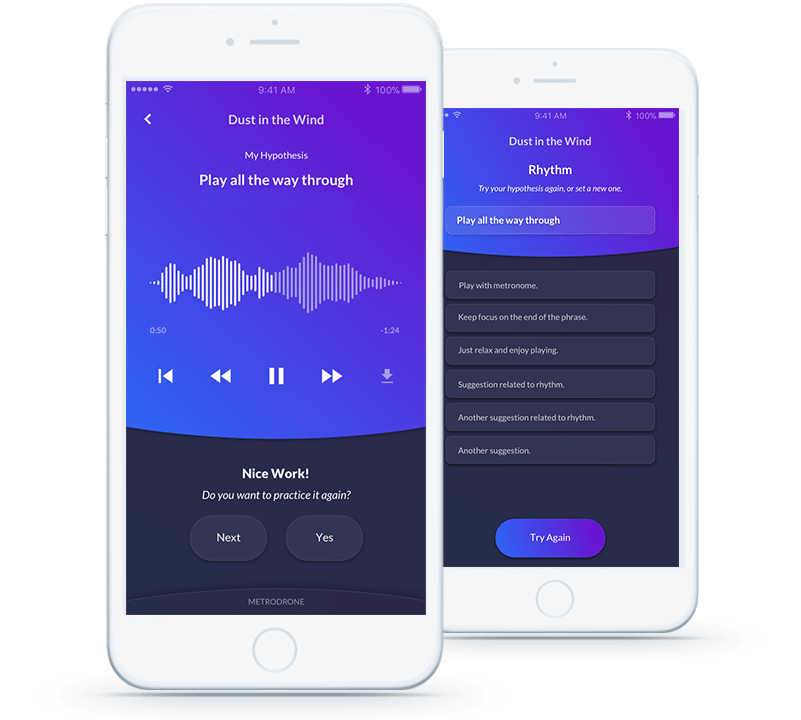 Guided Music Practice App