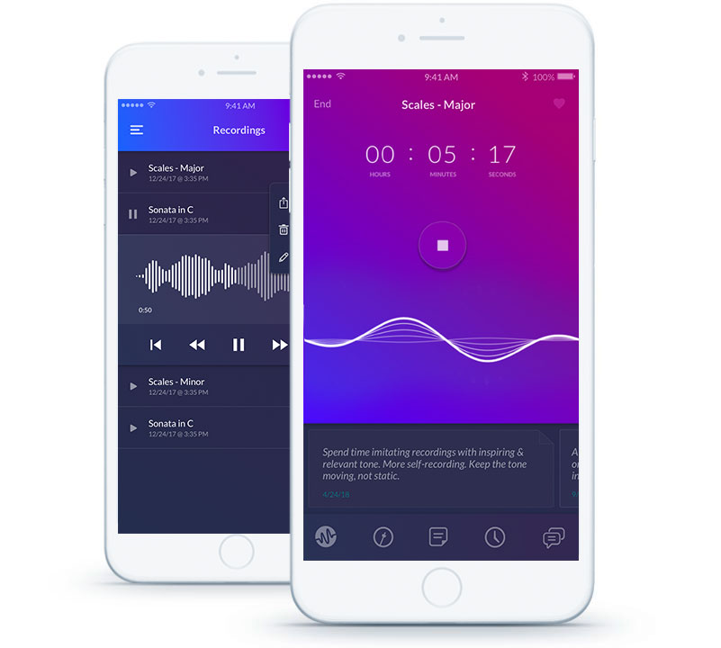 Music Practice App - A New Way to Practice Music | Modacity